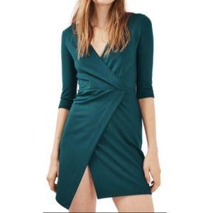 🔥FIRE SALE🔥 Topshop Mini Ponte Wrap Dress